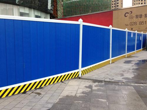 施工彩钢围栏